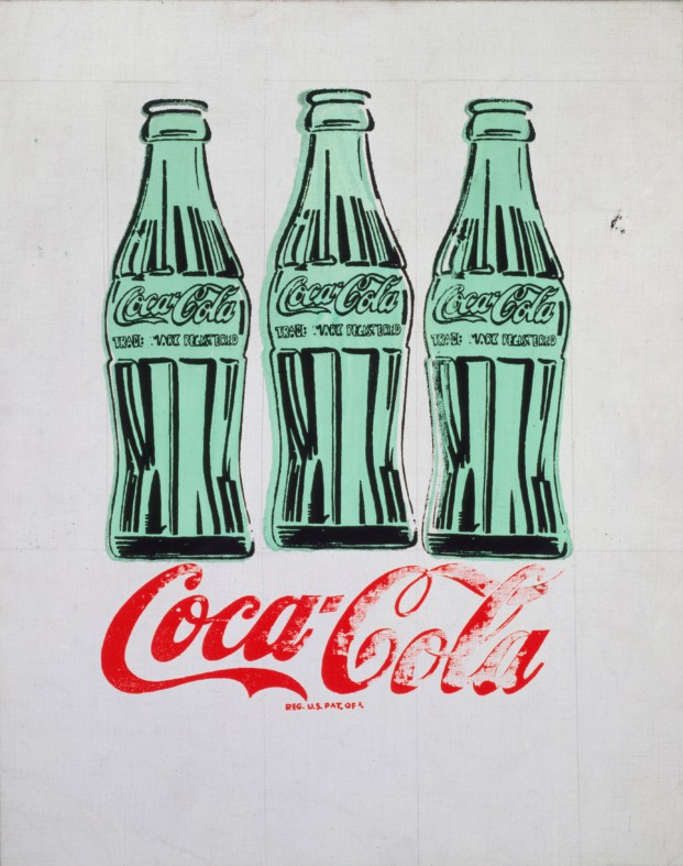 serigrafia Tres botellas de Coca Cola wharhol diariodesign