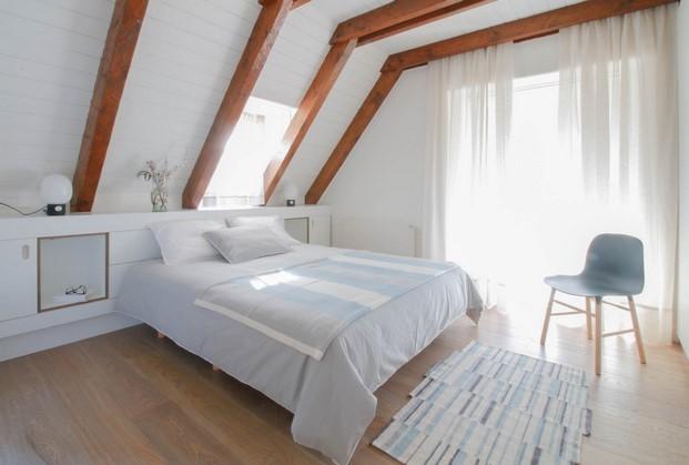 dormitorio apartamento de montana diariodesign