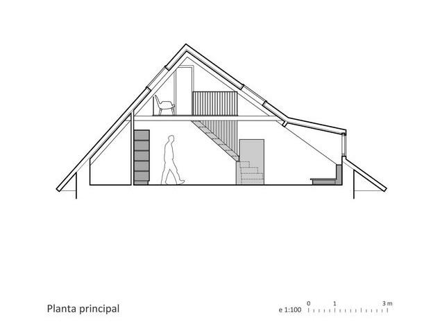 plano buhardilla