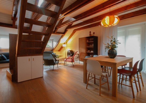 lampara coderch en apartamento de invierno diariodesign