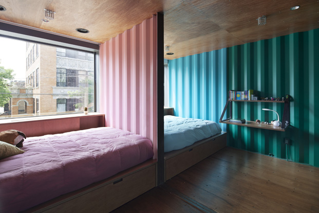 dormitorios edificio carroll house en nueva york del estudio lot ek diariodesign