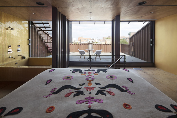 alfombra edificio carroll house en nueva york del estudio lot ek diariodesign