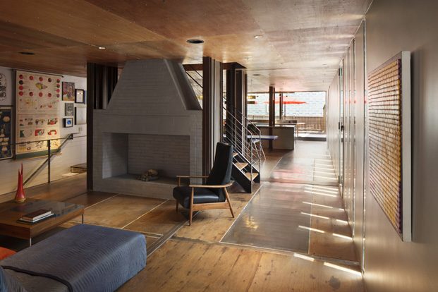chimenea edificio carroll house en nueva york del estudio lot ek diariodesign