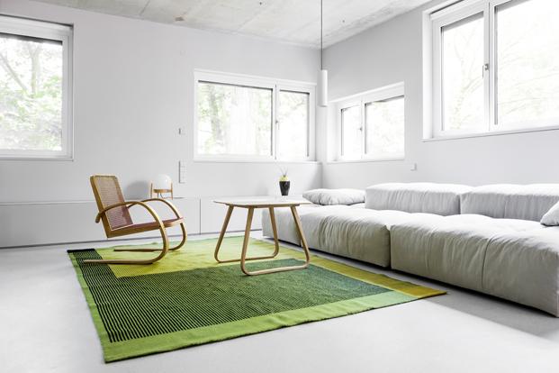 sofa de House on Prenzlauer Berg diseno en Berlin diariodesign