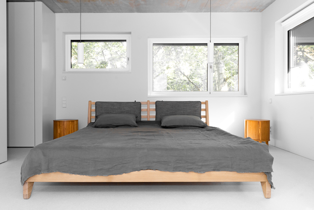 dormitorio de House on Prenzlauer Berg diseno en Berlin diariodesign