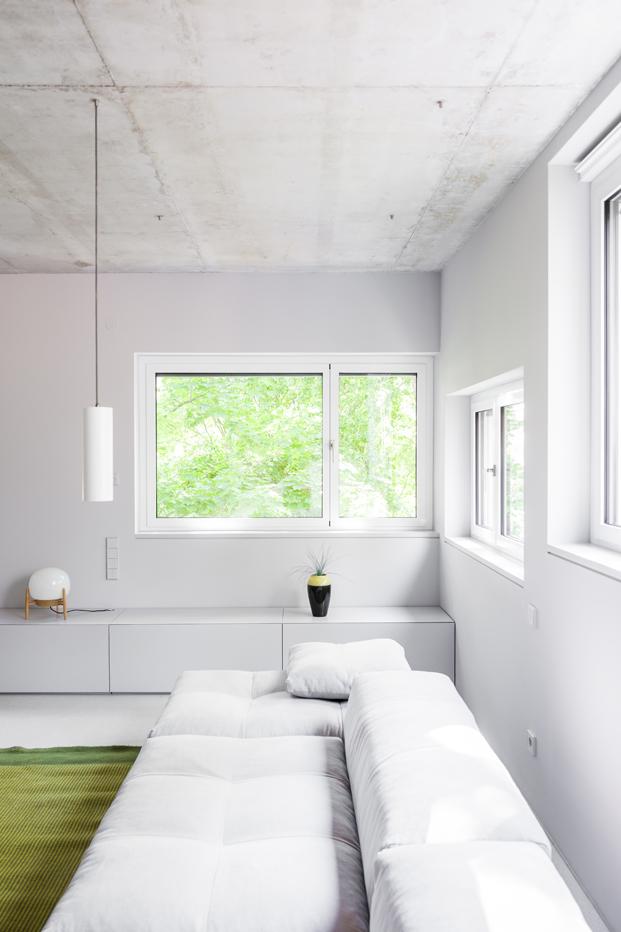 sala de estar de House on Prenzlauer Berg diseno en Berlin diariodesign