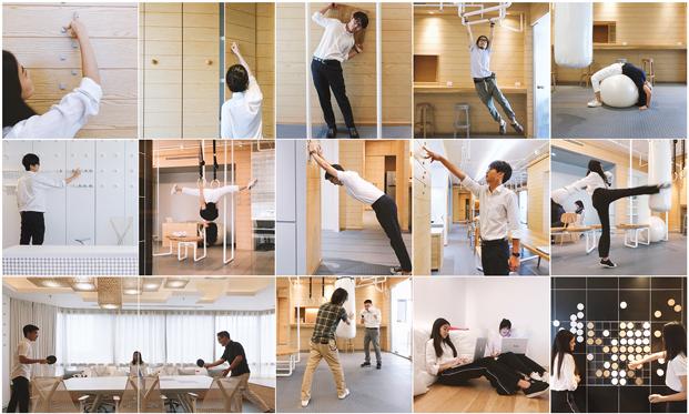 gimnasia en la oficina diariodesign