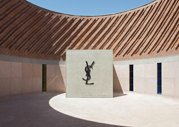 logotipo museo Yves Saint Lauren diariodesign