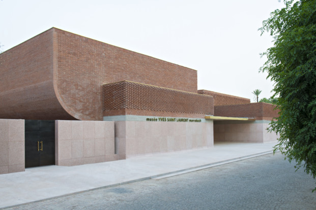 exterior Museo Yves Saint Laurent Marrakech diariodesign