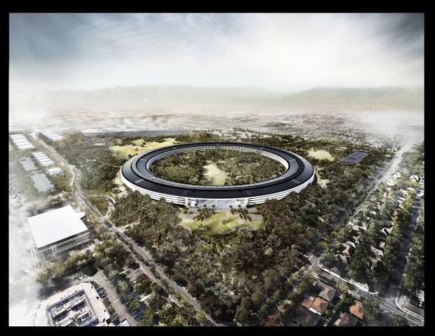 apple park en exposicion fundacion telefonica norman foster diariodesign