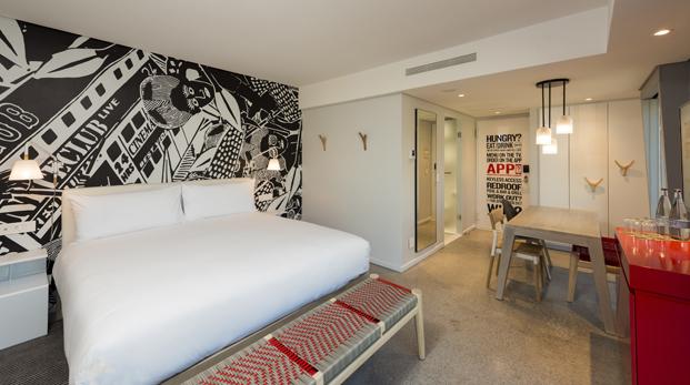 habitaciones Radisson RED hotel millenial en ciudad del cabo diariodesign