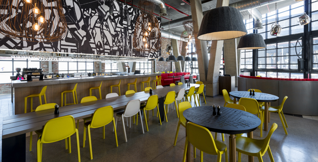 restaurante Radisson RED hotel millenial en ciudad del cabo diariodesign