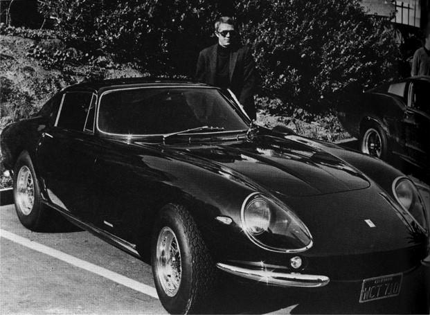 Steve McQueen y su Ferrari 275 GTB 4 diariodesign