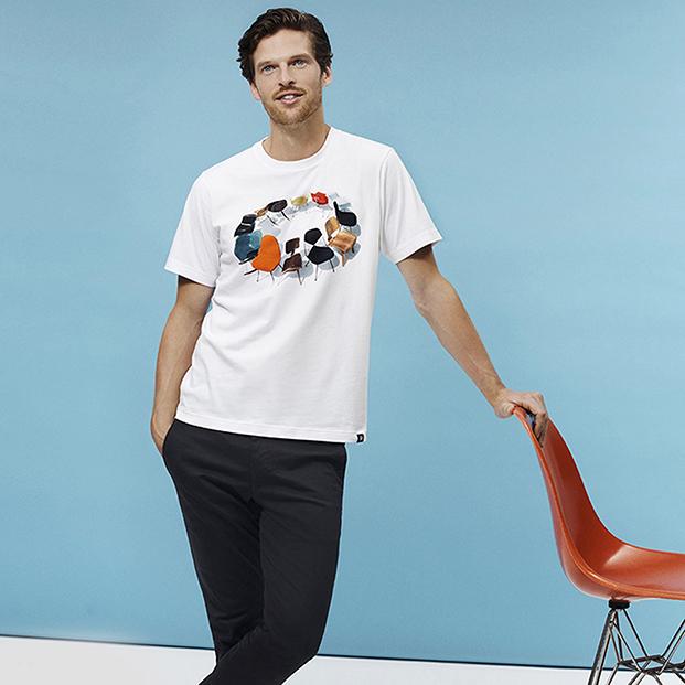camiseta blanca uniqlo de eames diariodesign