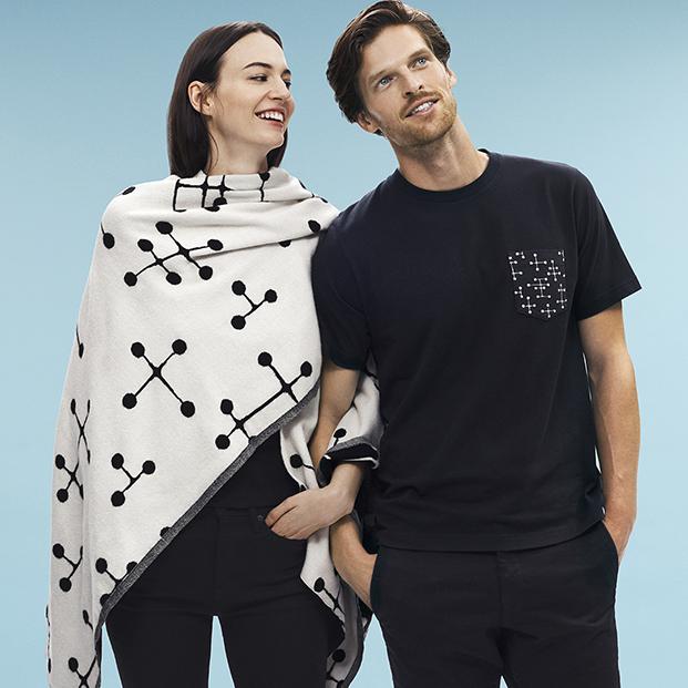 chal y camiseta uniqlo de eames diariodesign