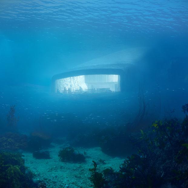 vistas desde el restaurante debajo del agua diariodesign