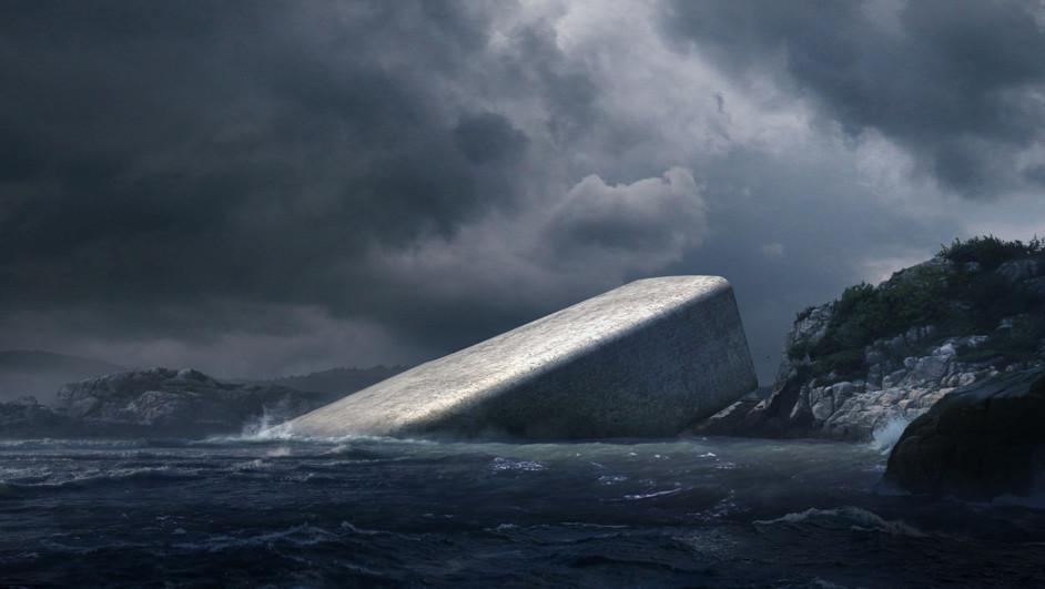 Under Snohetta restaurante submarino Noruega diariodesign