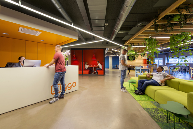 call center de VodafoneZiggo por Evolution Design en Rotterdam diariodesign