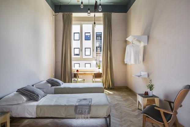 habitaciones hotel casaBASE milan diariodesign