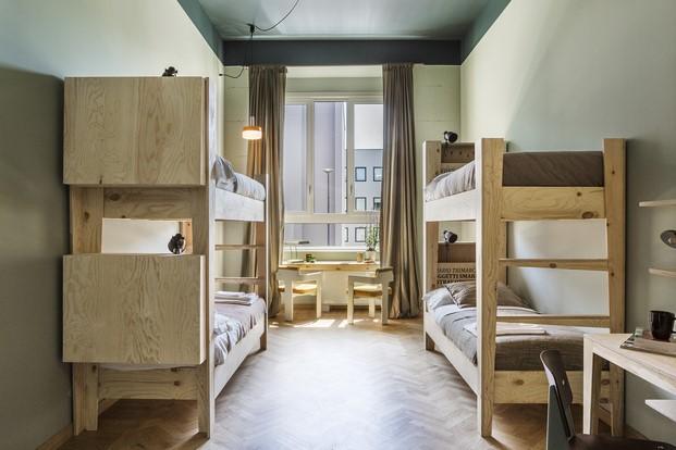 habitacion hotel casaBASE milan diariodesign