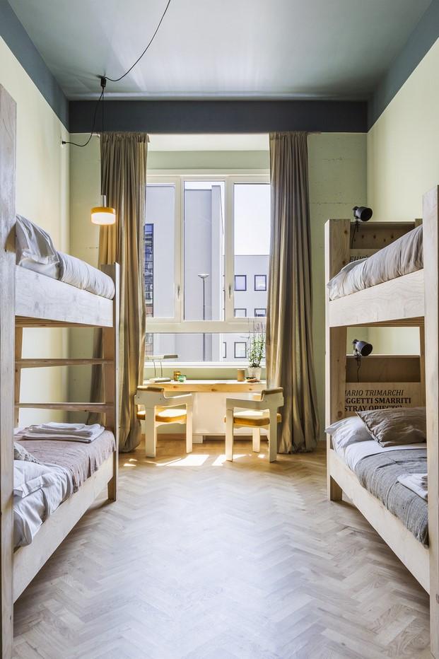 literas en hotel casaBASE milan diariodesign