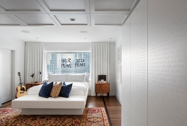 reforma suite Beatles hotel lennon yoko ono paz diariodesign