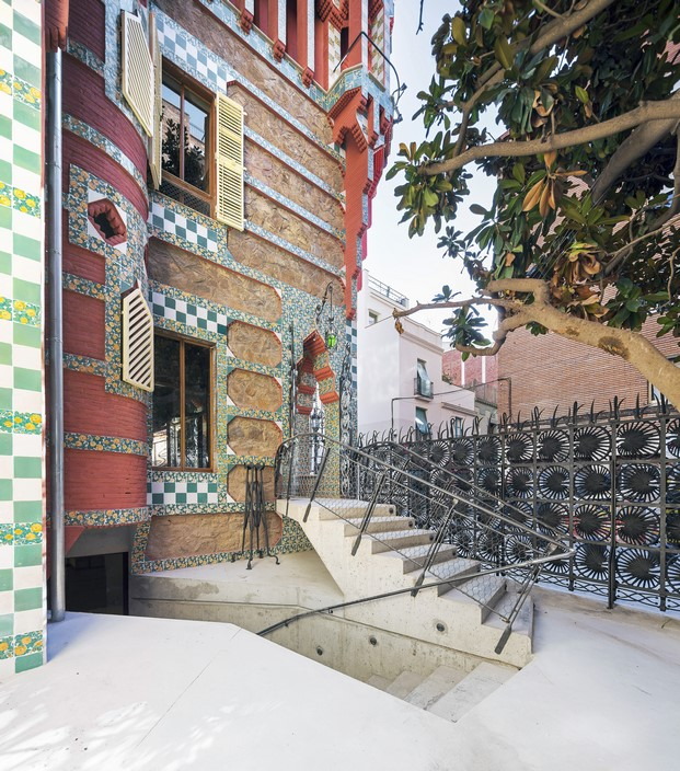casa vicens en barcelona de gaudi en barcelona diariodesign