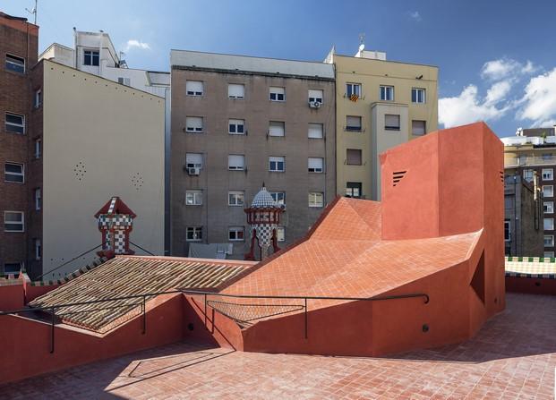 terrado casa vicens en barcelona de gaudi en barcelona diariodesign