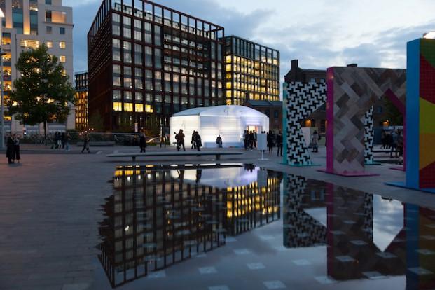 exterior feria designjunction en Londres diariodesign