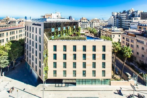 vista del hotel od en barcelona diariodesign