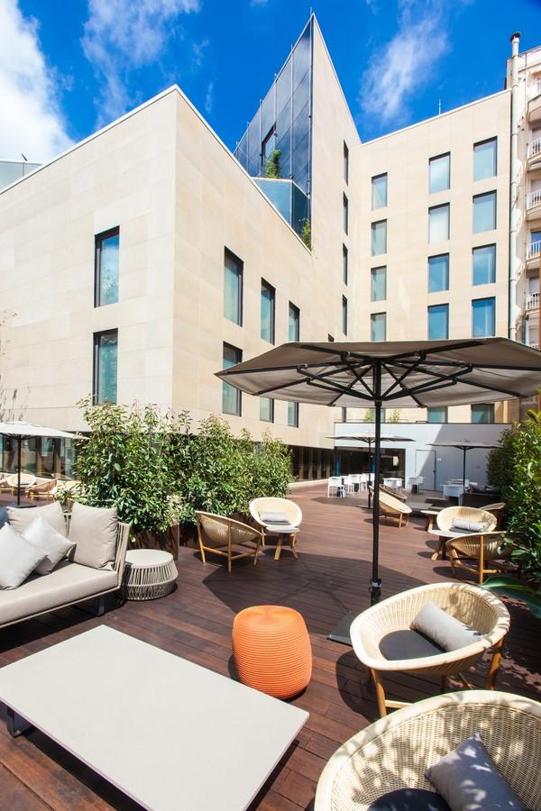 terraza del hotel od barcelona diariodesign