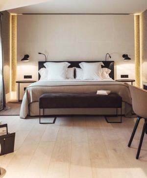 dormitorio hotel sant francesc en mallorca diseno en palma diariodesign