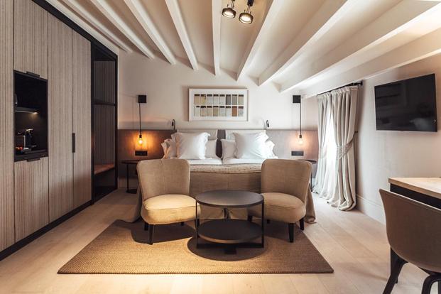 habitacion doble en hotel sant francesc en mallorca diseno en palma diariodesign