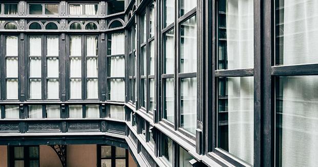 cerramientos hotel sant francesc en mallorca diseno en palma diariodesign