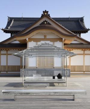 kouan casa de te transparente de Tokujin Yoshioka diariodesign