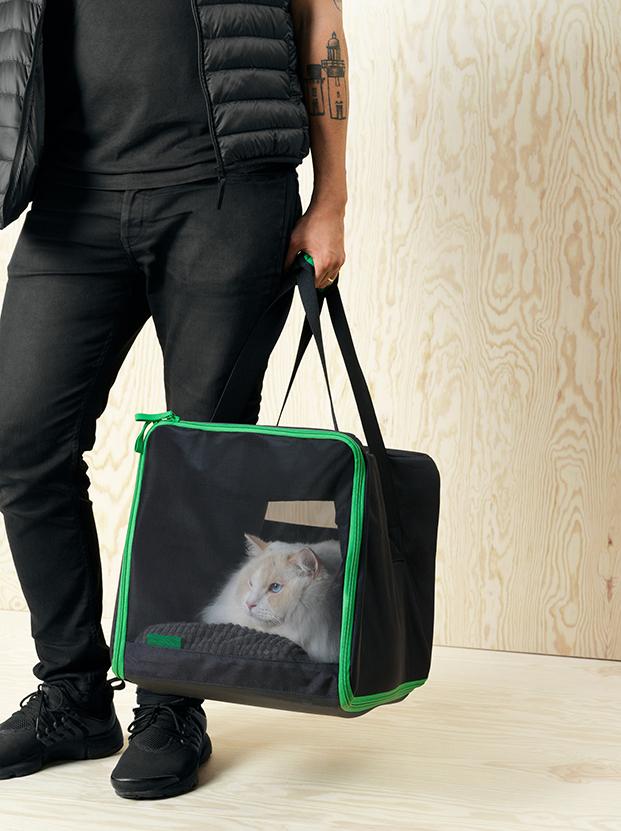 cesta de viaje y muebles para perros y gatos de ikea diariodesign