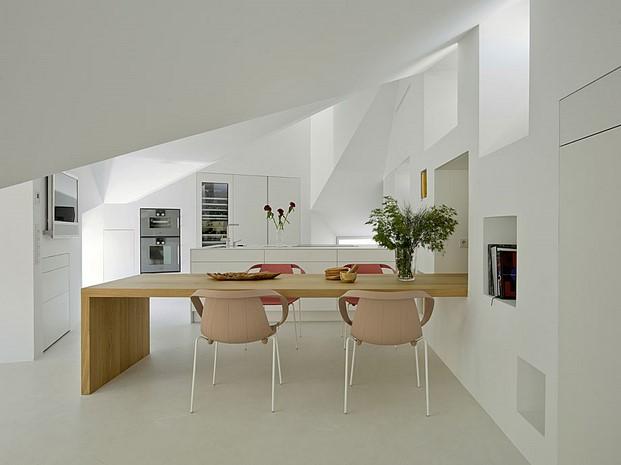 cocina de un Duplex en madridde Abaton Batavia diariodesign