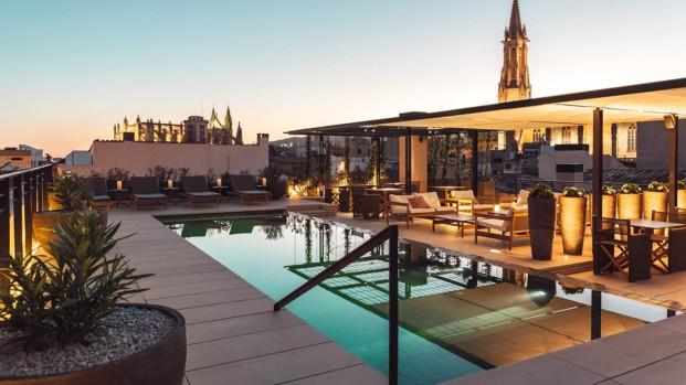 piscina hotel sant francesc en mallorca diseno en palma diariodesign