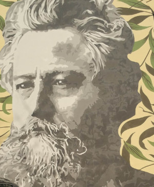 william morris grafiti expo Arts Crafts diariodesign