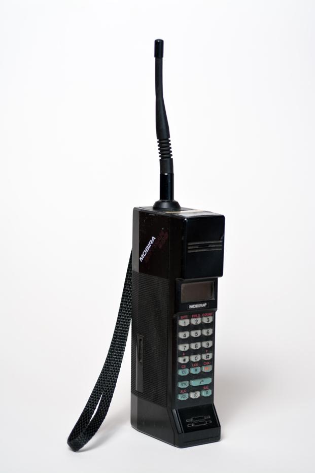 Teléfono MobiraCityman finlandia en Museo de Artes Decorativas de Madrid diariodesign