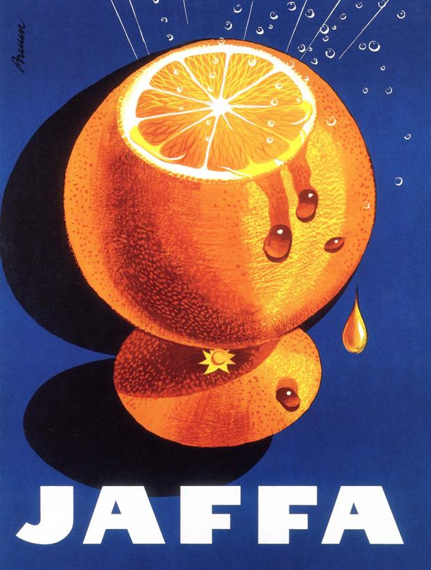 Cartel Jaffa de Hartwall finlandia en Museo de Artes Decorativas de Madrid diariodesign