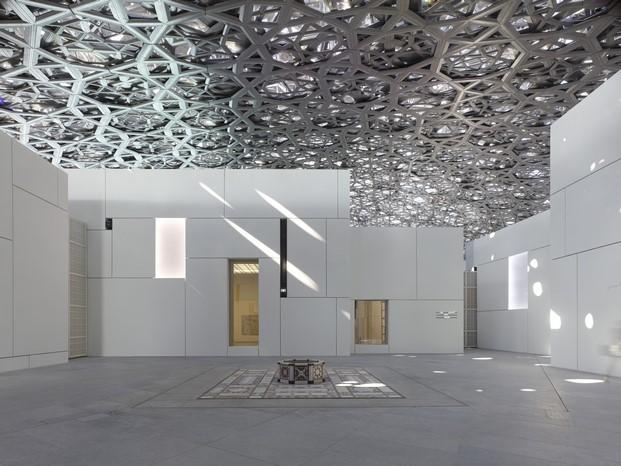 interior museo Louvre de jean nouvel Abu Dhabi diariodesign