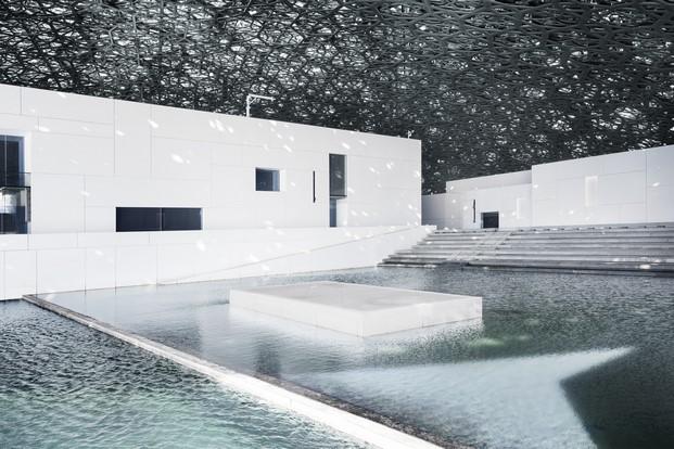 agua museo Louvre de jean nouvel Abu Dhabi diariodesign