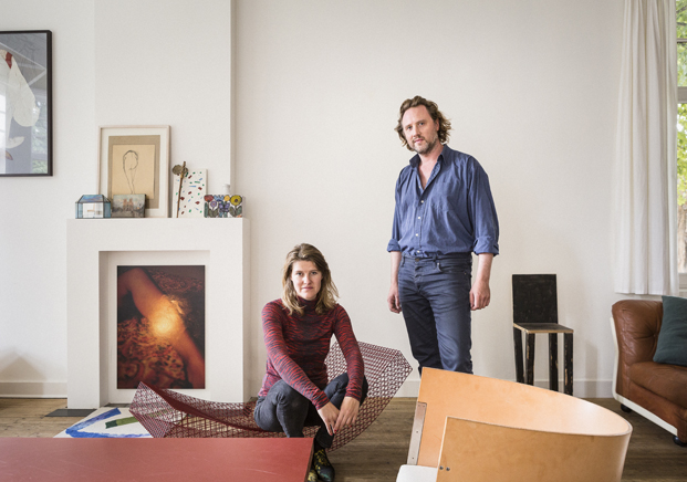Airbnb en la design miami disenadores Muller Van Severen sala estar diariodesign