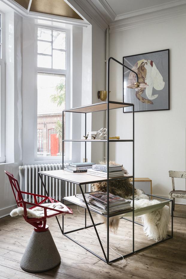 Airbnb en la design miami Muller Van Severen mesita diariodesign