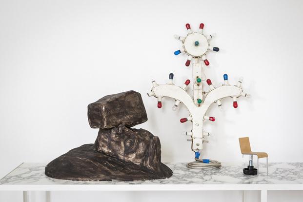 Airbnb en la design miami Muller Van Severen piezas arte diariodesign