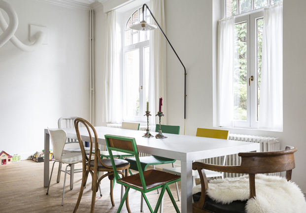 Airbnb en la design miami Muller Van Severen mesa comedor diariodesign