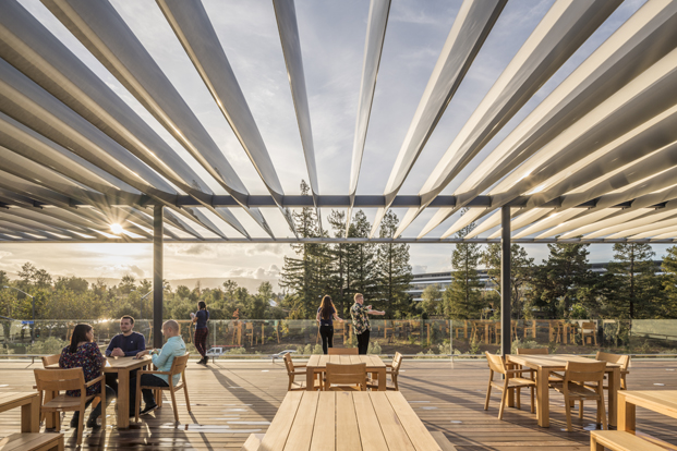 Apple park visitor center Foster Partners azotea diariodesign