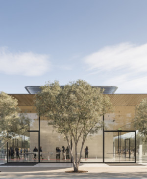 Apple park visitor center Foster Partners fachada diariodesign