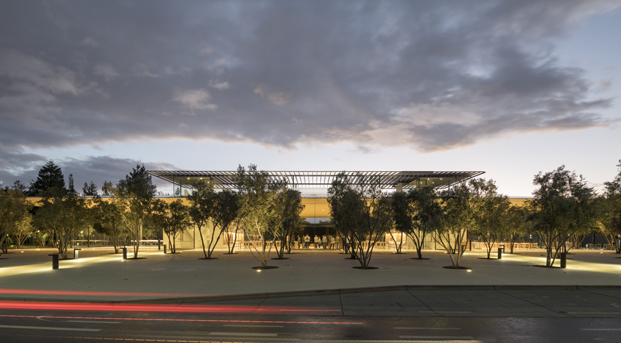 Apple park visitor center Foster Partners fachada diariodesign